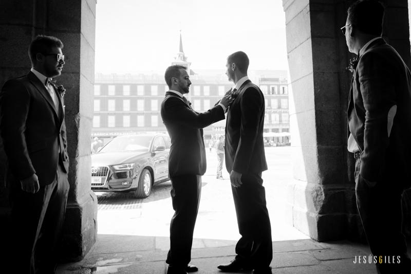 fotógrafo de bodas gays