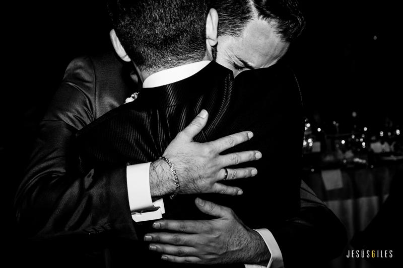 Roberto y Nector boda gay Extremadura
