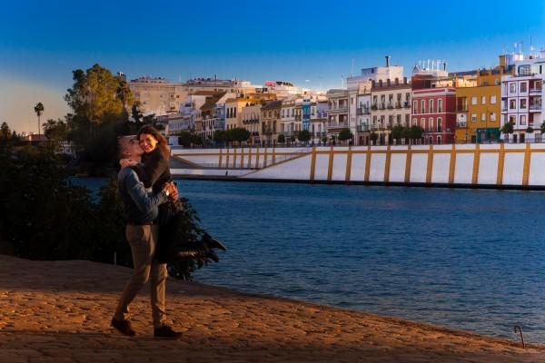 Lupe y Joaqui preboda Sevilla