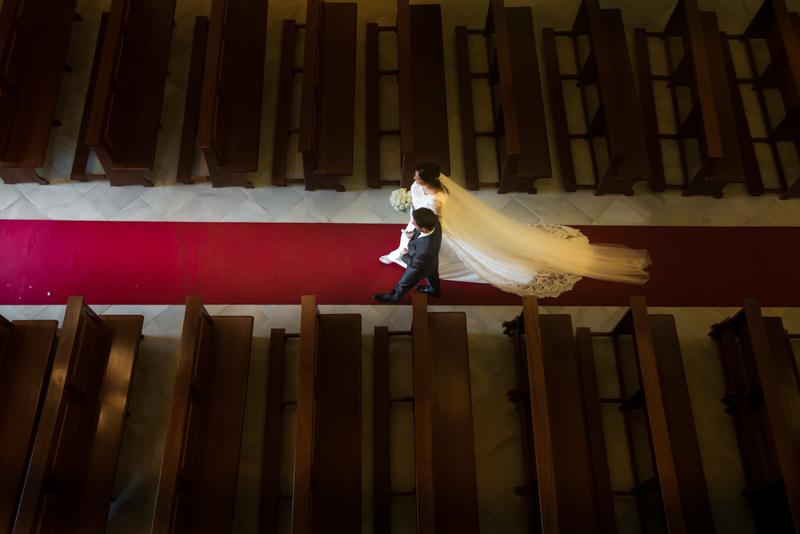 Maria y Jesús la ilusión de una boda.