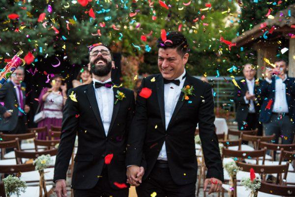 Javier y Julian boda en Madrid