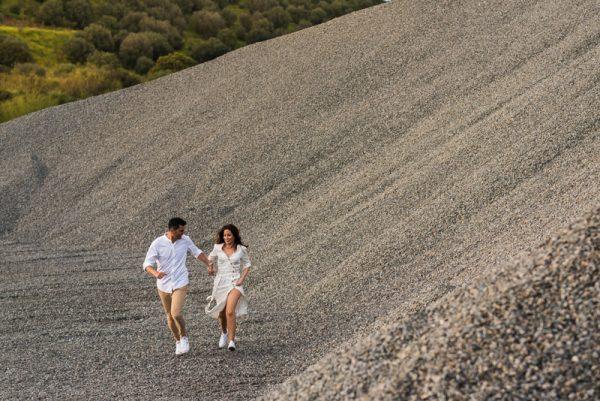Raquel y Jose, el amor no es duro como las piedras.
