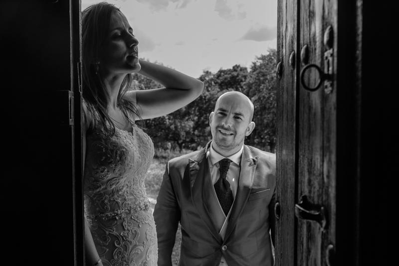 Nuria y Ruben post boda manchega