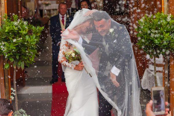 Arantxa y Enrique boda en Salvaleón
